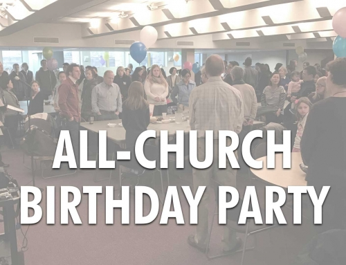All-Church Birthday Party