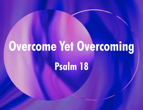 Overcome Yet Overcoming – Psalm 18 Study (Warrenville, April 15, 2018)