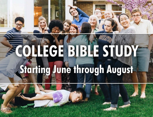 Summer College Bible Study