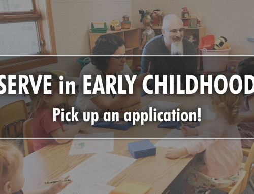 SERVE in EARLY CHILDHOOD