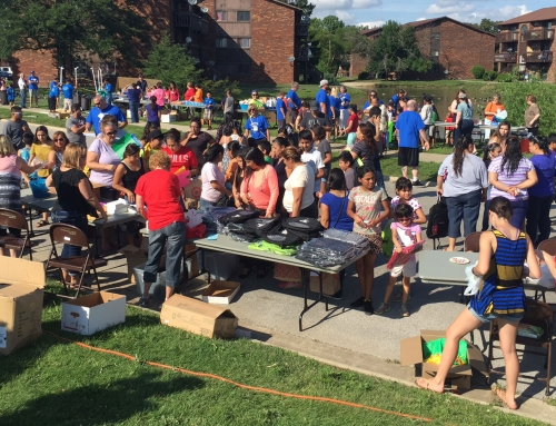 Johnson School Block Party