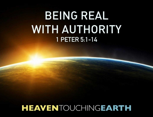 Being Real with Authority – 1 Peter 5:1-14 Study (September 30, 2018)