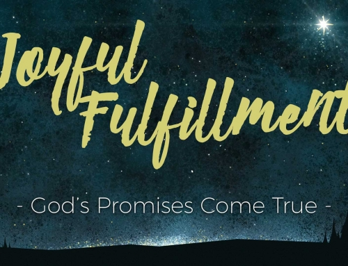 Undeserved Promise – Luke 1:26-38 Study (December 9, 2018)