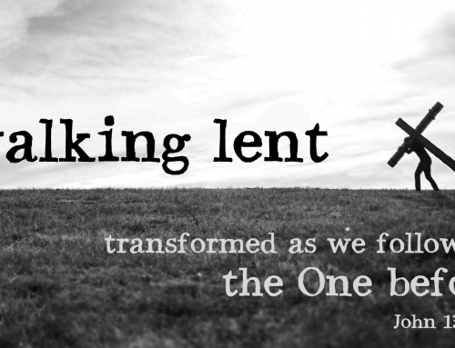 Transformed as we Follow the One Before – John 13:31-38 study (March 17, 2019)