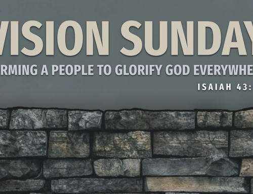 Vision Sunday – Warrenville