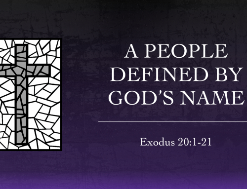 A People Defined By God's Name – Warrenville